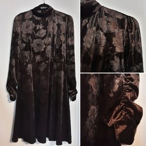 Velvet Dress NWOT Long Sleeve